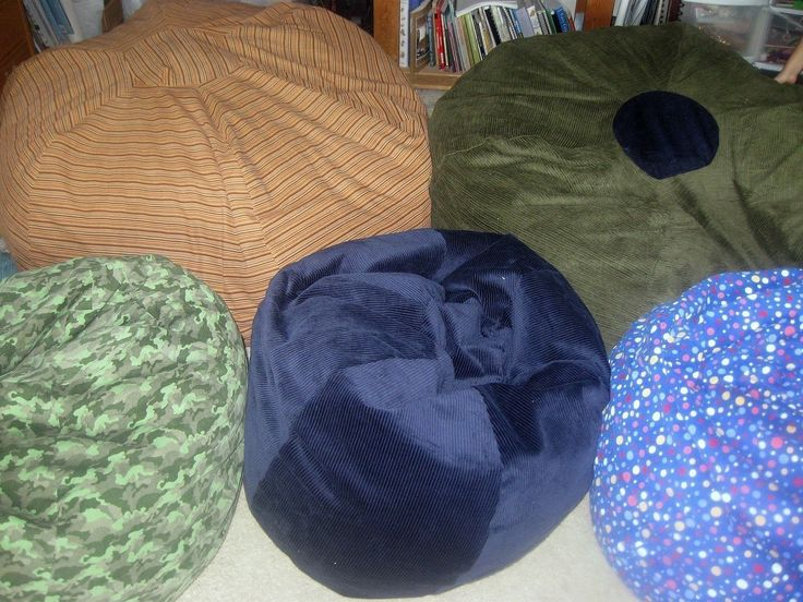 PMake A Bean Bag Chair Out Of T Shirts Comfy Squared