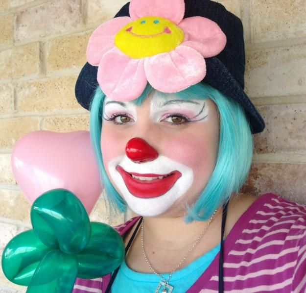 pictures of girl clowns | 18018254_1-POOKIE-THE-CLOWN-Female-clown-in-the-DFW-area-FACE-PAINTING ...