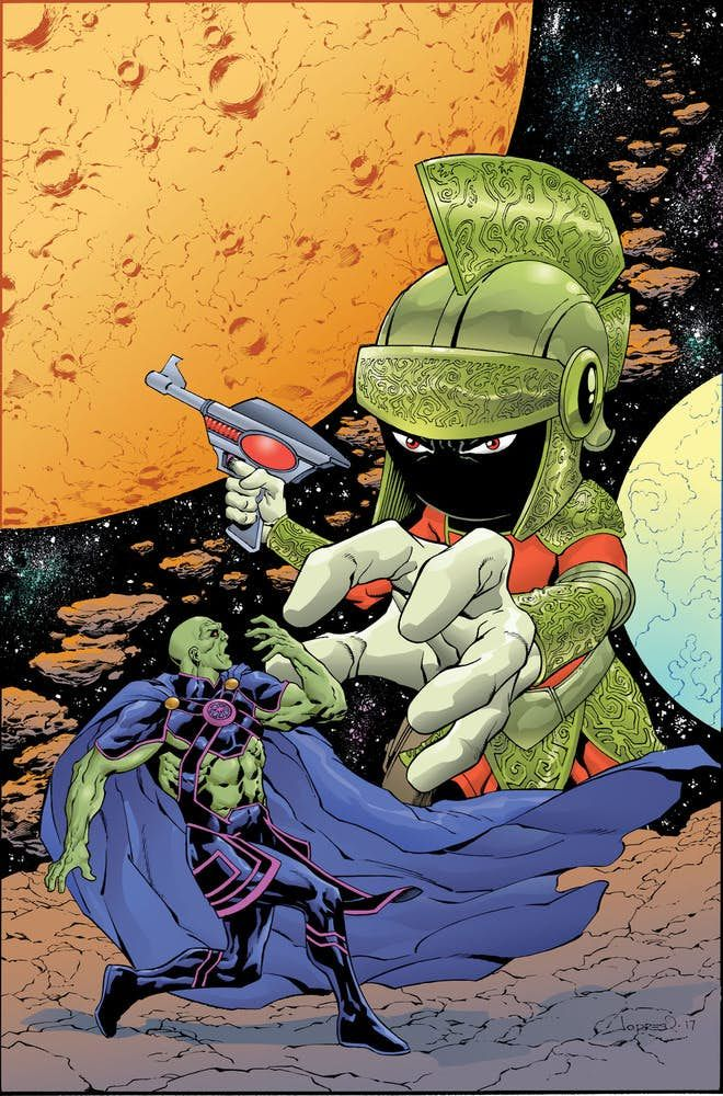 MARTIAN MANHUNTER/ MARVIN THE MARTIAN SPECIAL #1