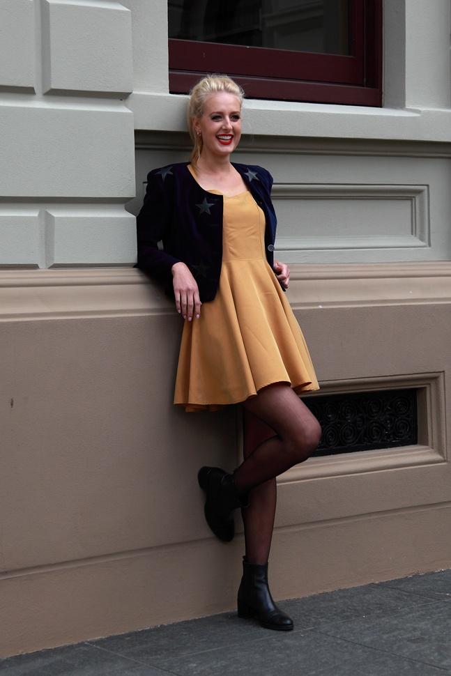 Star Jacket  Munich Dress Gold