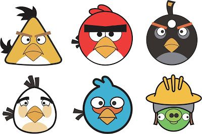 Vetores Angry Birds Download Grátis