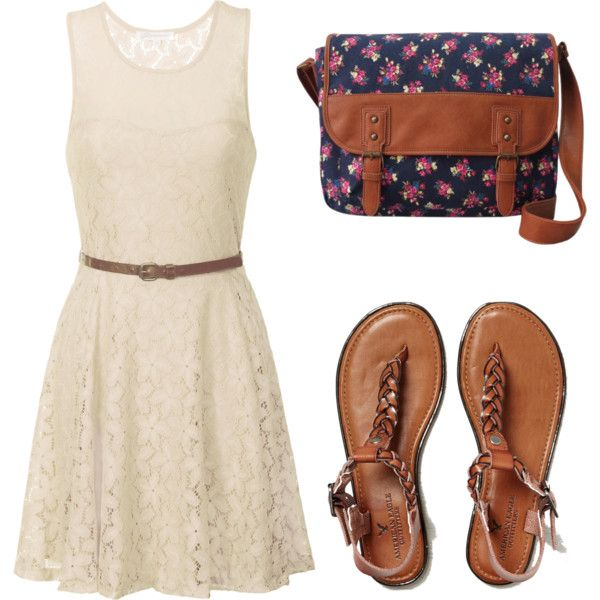 Simple by halliec on Polyvore featuring polyvore, fashion, style, Alice & You and American Eagle Outfitters