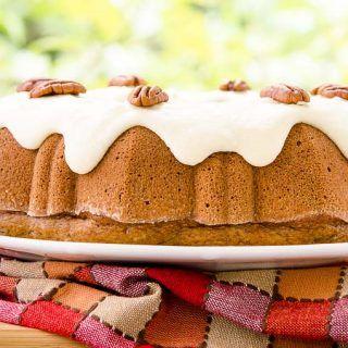 Canela pacana de Manzana Pastel Bundt por Magnolia Días