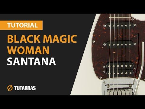 """Black Magic Woman""       by Santana - guitar solos lesson - YouTube"