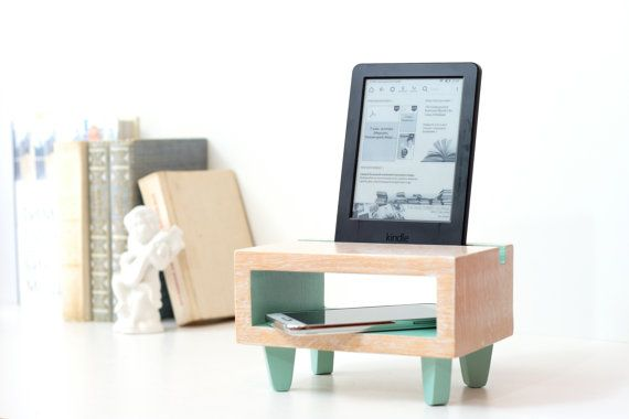 The docking station is for IPad, IPhone and for other devices with similar sizes. Perfect for home or work also will be the special useful gift for her or him.  ► Christmas gift can be send directly to your loved ones and friends NOT LATER then 18 JANUARY!  ►GIFT WRAPPING Here you may look at and chose a gift box ↓ https://www.etsy.com/listing/476544412/christmas-gift-wrapping-gift-box-with?ref=listing-shop-header-1 Please specify the image number of a gift box which you selected, in the…