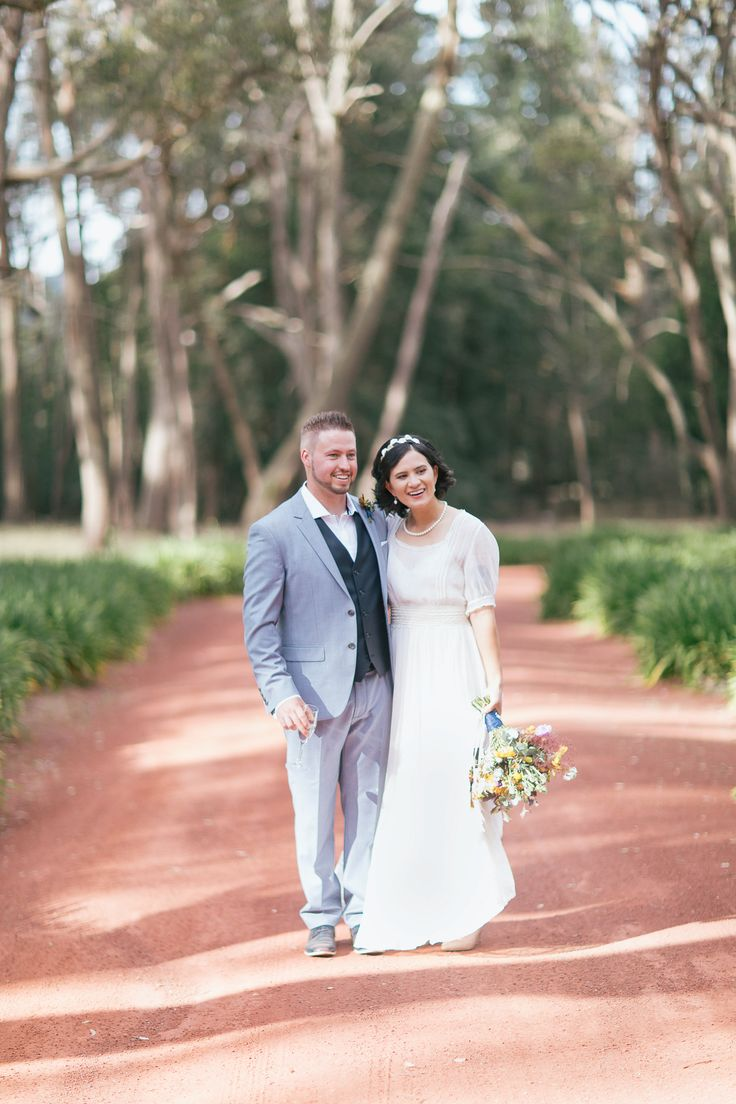 Australian wedding. Woodend Victoria. - Pretty Flamingo Photography.