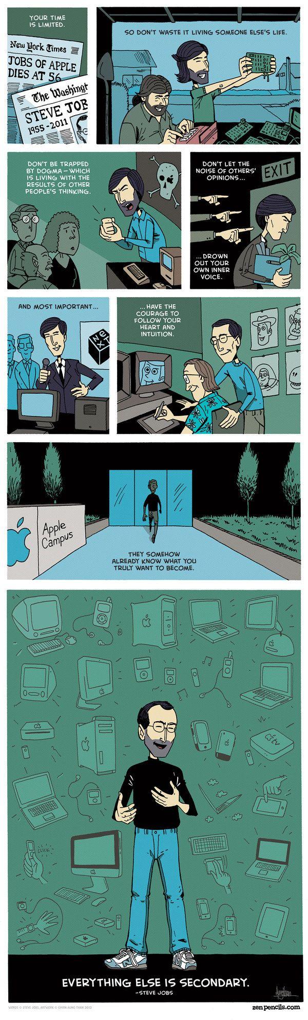 Zen Pencils - Steve Jobs