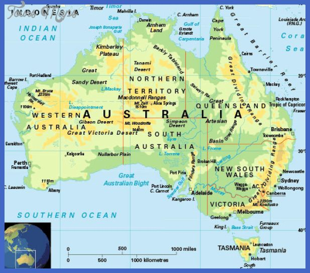 Australia Travel Map.Pin On Australia Maps
