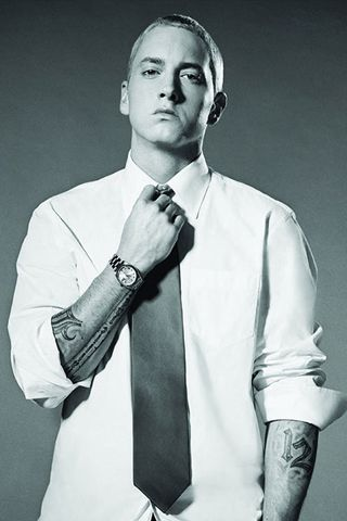 His Lyrical creativity evokes a spectrum of emotions about gender, relationships, society... that's profound art. Eminem