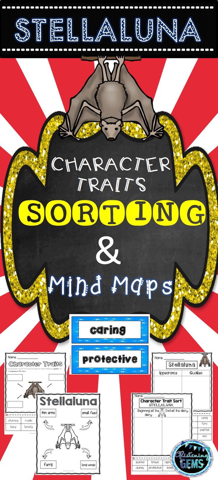 Character Traits - Stellaluna