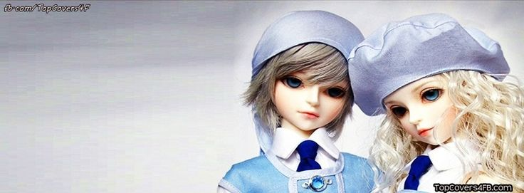 Get our best Cute Doll Couple facebook covers for you to use on your facebook profile. If you are looking for HD high quality Cute Doll Couple fb covers, look no further we update our Cute Doll Couple Facebook Google Plus Tumblr Twitter covers daily! We love Cute Doll Couple fb covers!