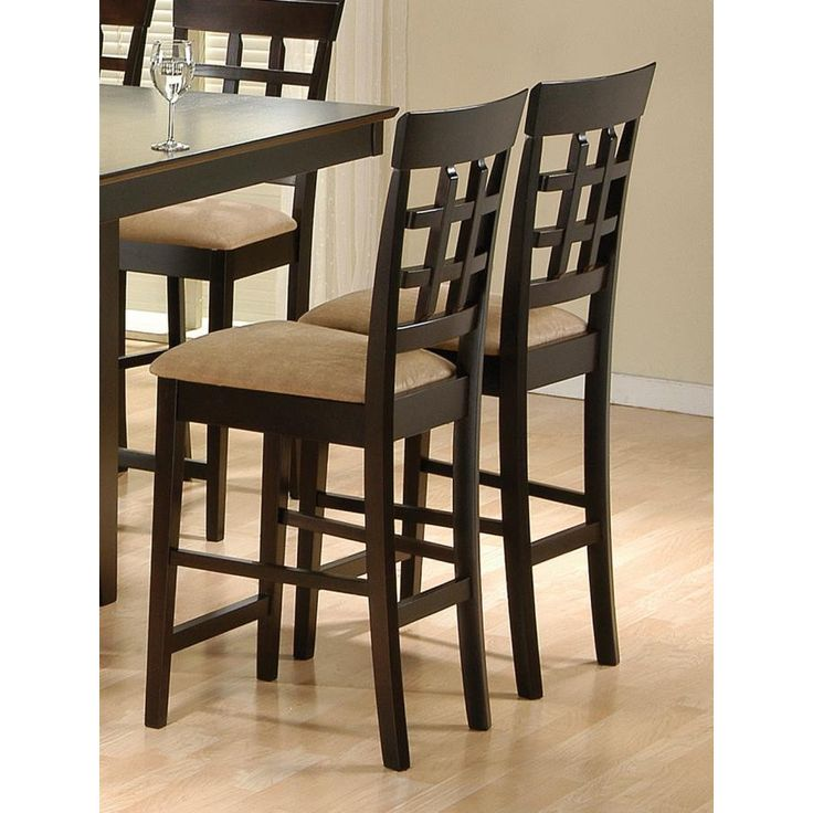 counter height chairs for kitchen island counter height chairs kitchen island coaster pack - Counter Height Chairs