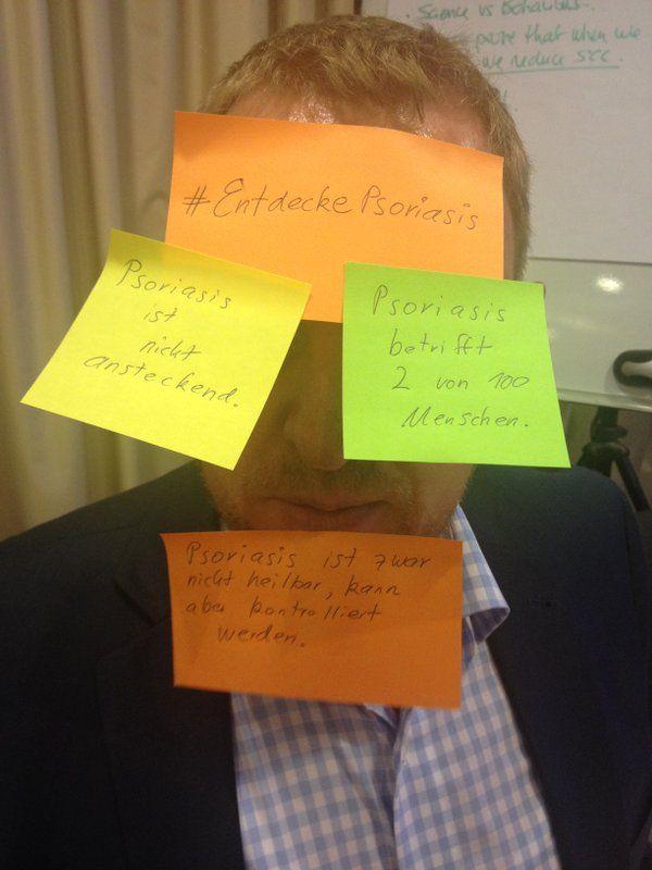 Mach mit und unterstütze den #WorldPsoriasisDay mit deinem #EntdeckePsoriasis-Foto! #Schuppenflechte #Psoriasis