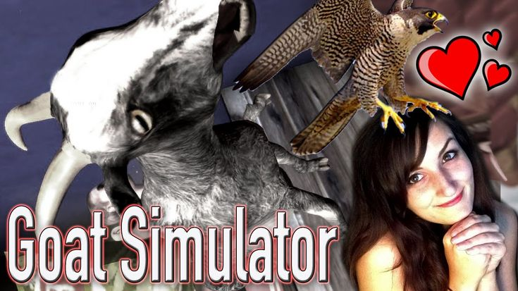 I AM REAL FALCON LOVER!! (Plus Zombies) - Goat Simulator Funny Moments P...