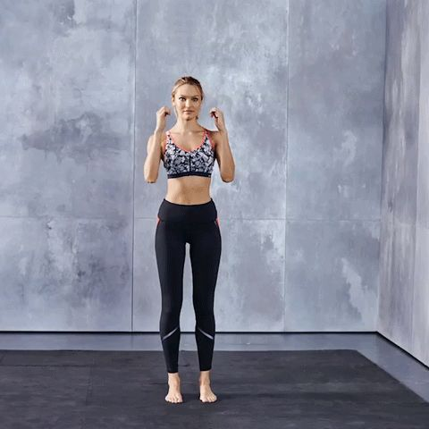 Train Like An Angel with Candice Swanepoel: Kick your way to a chiseled core—your abs & obliques go into overdrive to stabilize your body throughout the movement. Click ahead to see the full workout & shop Candice's looks. | Victoria's Secret Sport