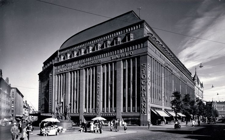 Stockmann department store, Helsinki, Sigurd Frosterus, 1916-30.