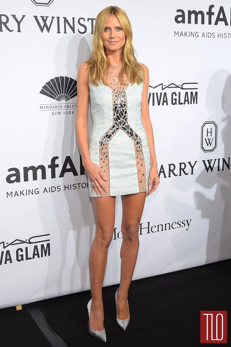 Heidi Klum Toned Skinny Legs 2015 Fit Inspiration
