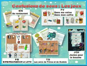 ORTHOGRAPHE : sons proches , confusions LES JEUX CP / CE1