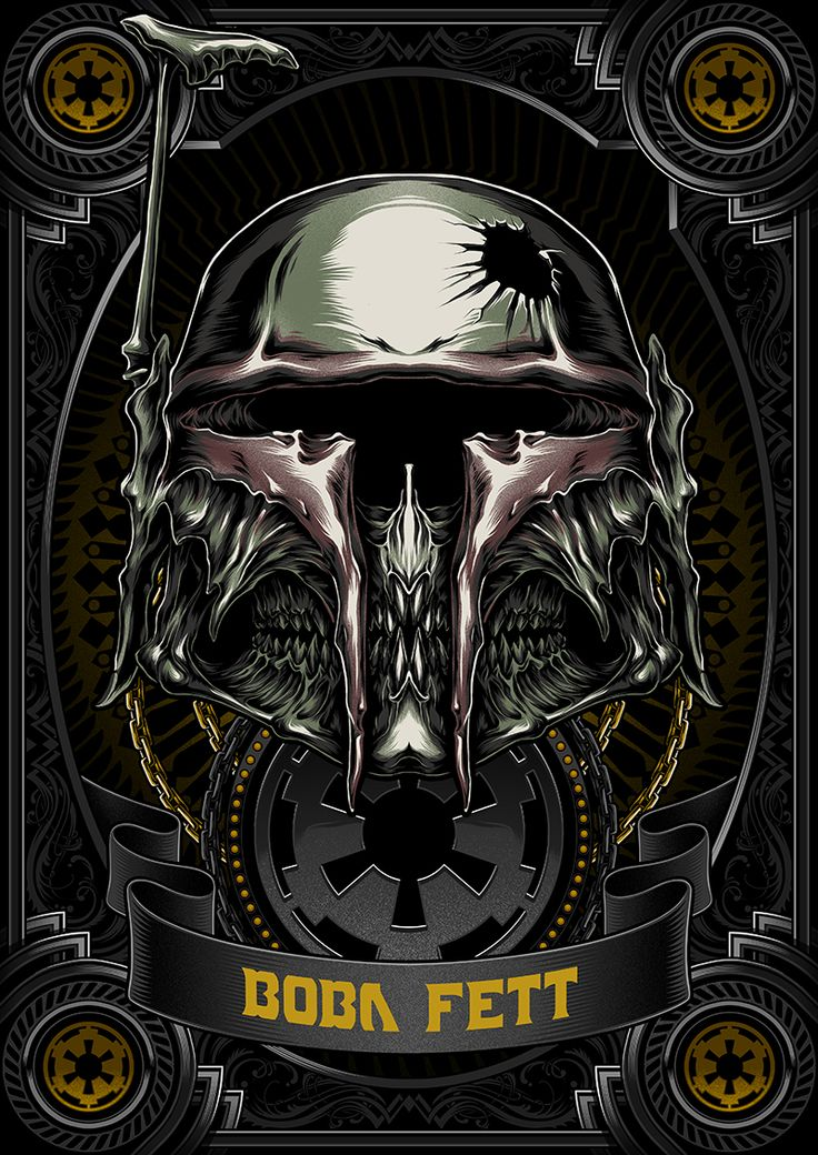 Death Side Series : Boba Fett on Behance