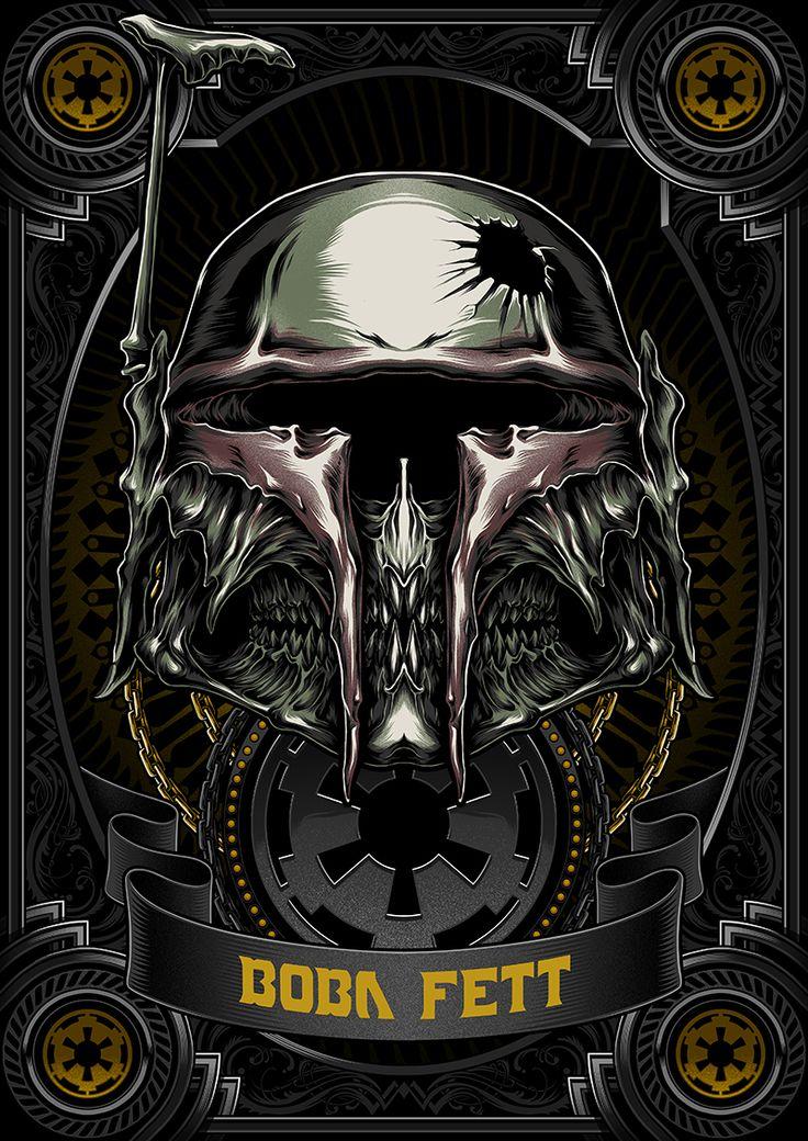 Death Side Series : Boba Fett on Behance