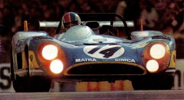 MATRA 24 H DU MANS 1972 François CEVERT