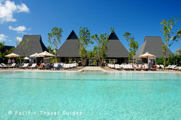Family Pool at the InterContinental Fiji via BeautifulPacific.com
