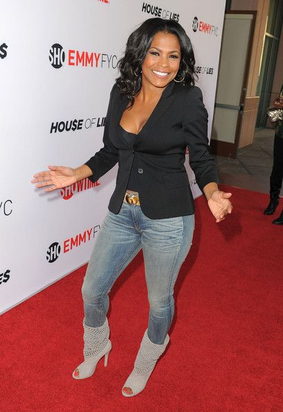 Nia Long - Arrivals at the 'House of Lies' Panel Discussion