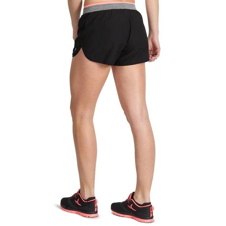 Fitnesz gépek, kardió ruházat Fitnesz, jóga, cross training - ENERGY női rövidnadrág DOMYOS - Fitnesz kardió ruházat, kiegészítők