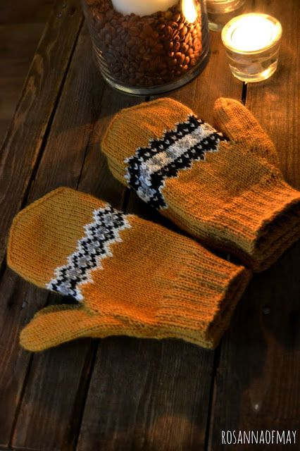 Fair isle mittens
