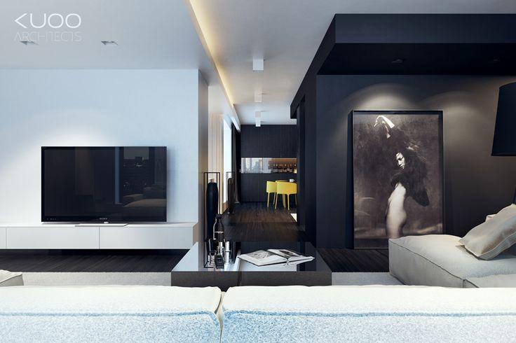 Bielsko-Biała // Sfera // Apartament // 167M2   Kuoo Architects