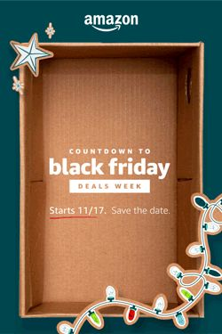 The holiday shopping season starts now! Shop early deals now or save the date for Black Friday Deals Week which starts 11/17.