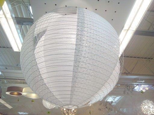 Boule chinoise originale vue chez Leroy Merlin. 12€