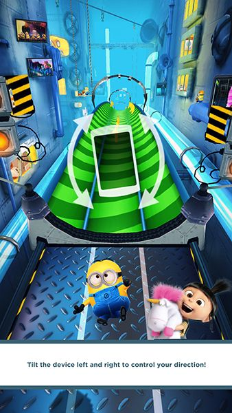 Minion Rush. created by:Gameloft. The purpose of the game is to guide a minion through a road while it runs, to catch all of the bananas, with the difficultyto avoid obstacles that appear in the path. It teaches to be precise and react fast to things. The game is teaching you this by leaving you with the decision of what path will be the best to win and catch more bananas without crashing with the obstacles. subject area: physics. 1:1 2:5 3:5 4:0 5:6 7:4