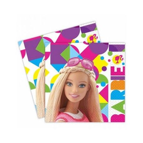 KIT COMPLEANNO BARBIE PALLONCINO