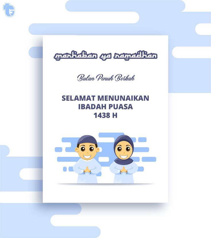 MARHABAN YA RAMADHAN SELAMAT MENUNAIKAN IBADAH PUASA 1438 H, 2017  https://www.behance.net/gallery/53125549/Ramadhan-Kareem  #graphicdesign #interaction #design #illustration #poster #cartoon