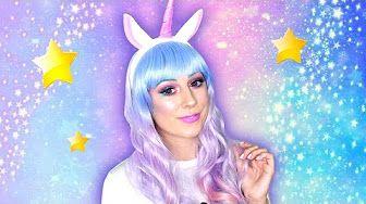 Laura Makeuptips - YouTube Unicorn halloween makeup