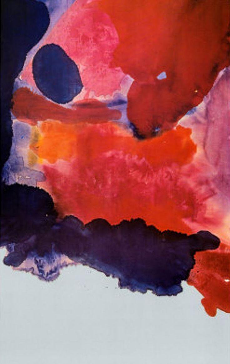Helen Frankenthaler - Pioneer artist in the Color Field movement
