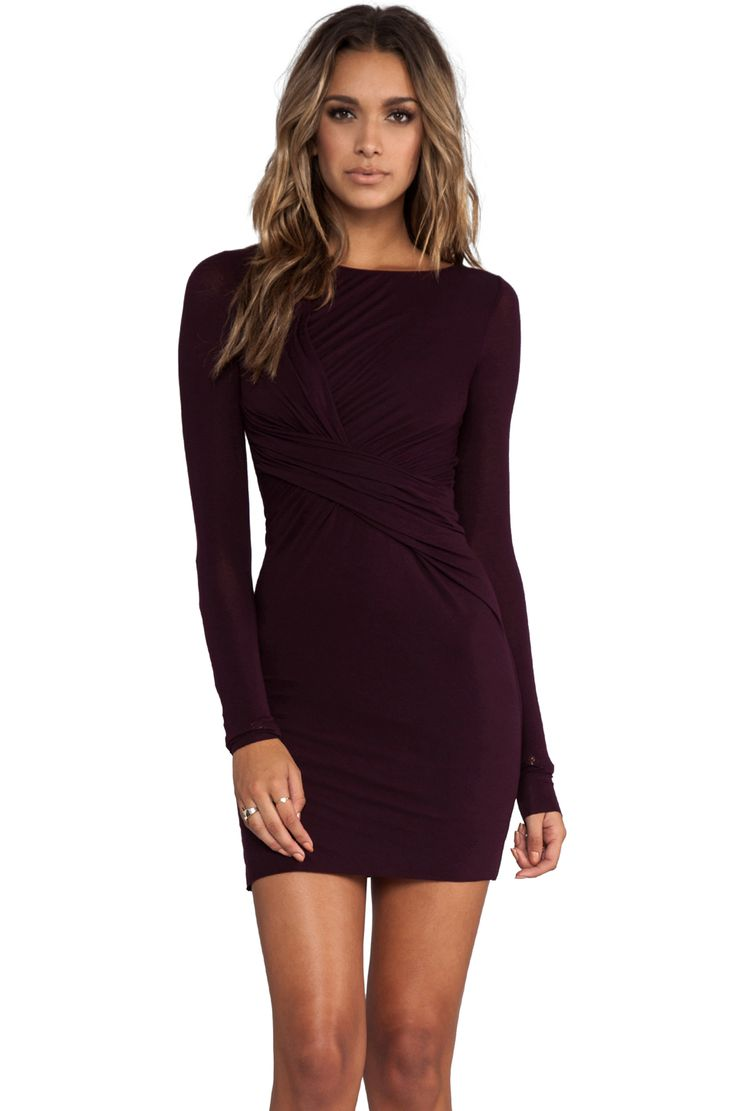 Bailey 44 My Darling Demon Dress in Port | REVOLVE