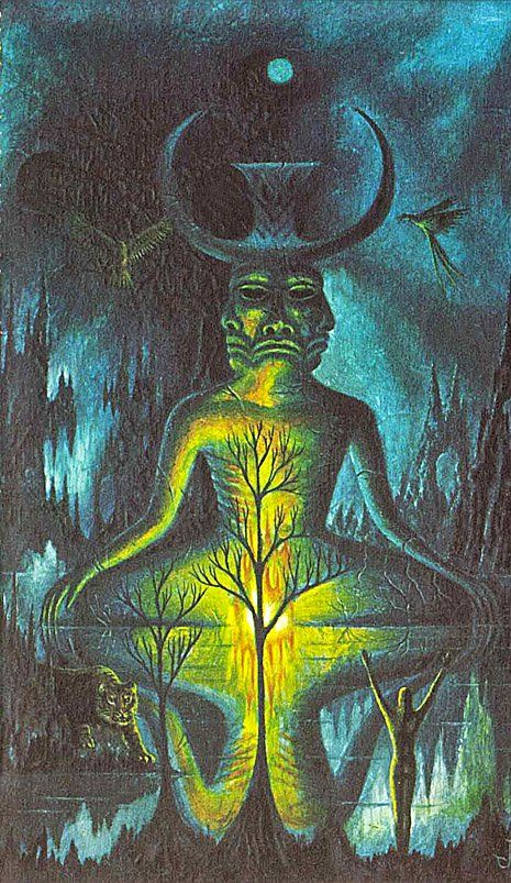 'Witchcraft and Black Magic': Surreal occult fantasy paintings | Dangerous Minds