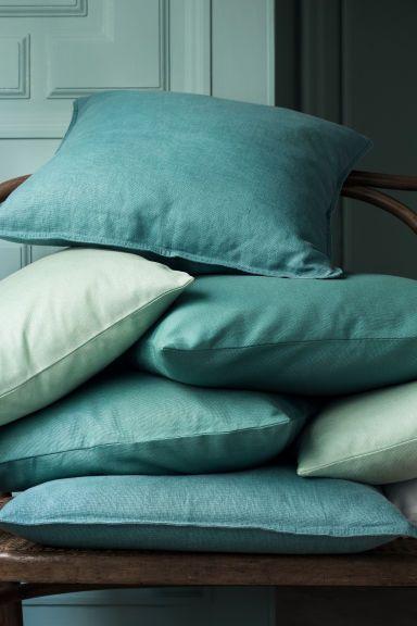 Płócienna poszewka  na poduszkę - H&M