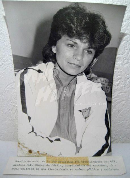 Paty Chapoy foto original archivo televisa se vende periodismo espectaculos chismes farandula | Flickr: Intercambio de fotos