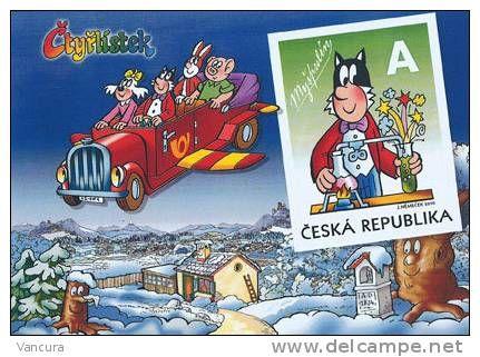 **picture-postcard -  Myspulin of Ctyrlistek (Quarterfoil) Cartoon 2010