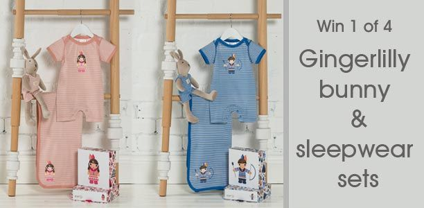 Win a cute Gingerlilly bunny and sleepwear set for your little one!