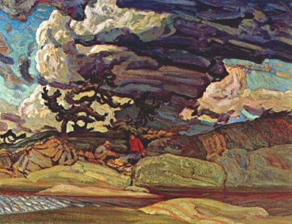 J.E.H. MacDonald (1883-1965) - The Elements