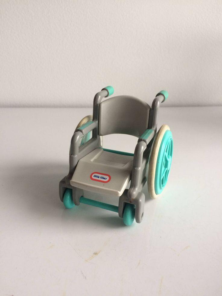 Little Tikes Wheel Chair Little Tykes Place Miniatures by SchmitysVintageBooty on Etsy