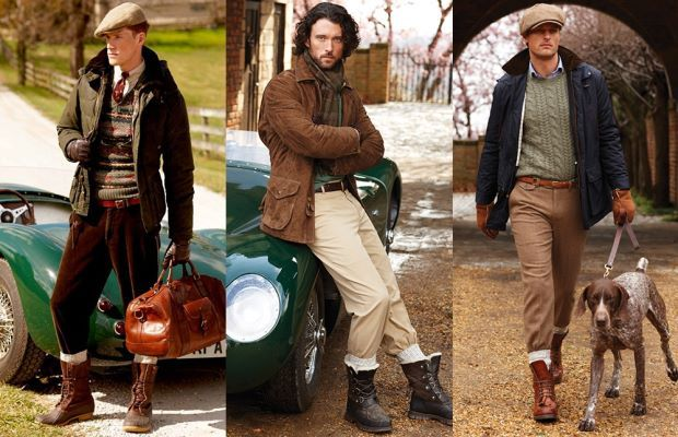 country gentleman fashion | ... Polo Ralph Lauren captures the authentic dress of a country gentleman