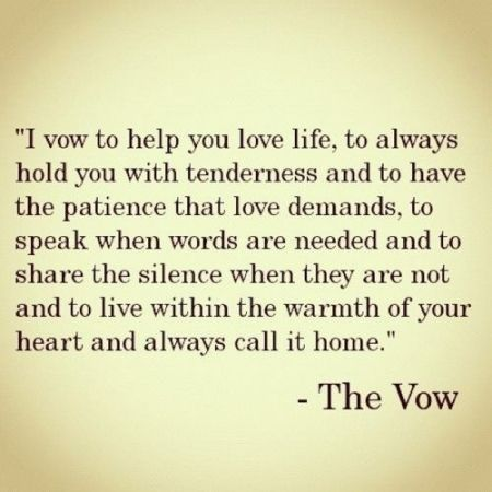 I am going to write this vow in my toms shoes and where them on my wedding day :)