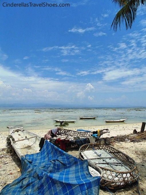 Kelp farms in Lembongan