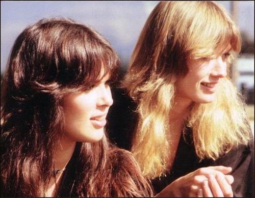 The Wilson sisters, aka best hair in rock & roll.