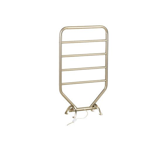 Eliminate the immediate chill that takes over upon stepping out of the shower by having a warm towel at the ready. This nickel warmer rack can be mounted on the wall or left freestanding to ensure that you remain warm and toasty following every shower.
